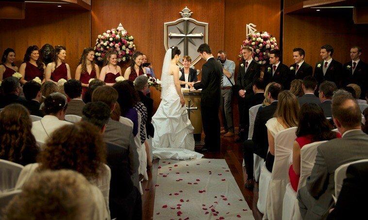 Венчание в Церкви Саентологии Лондона