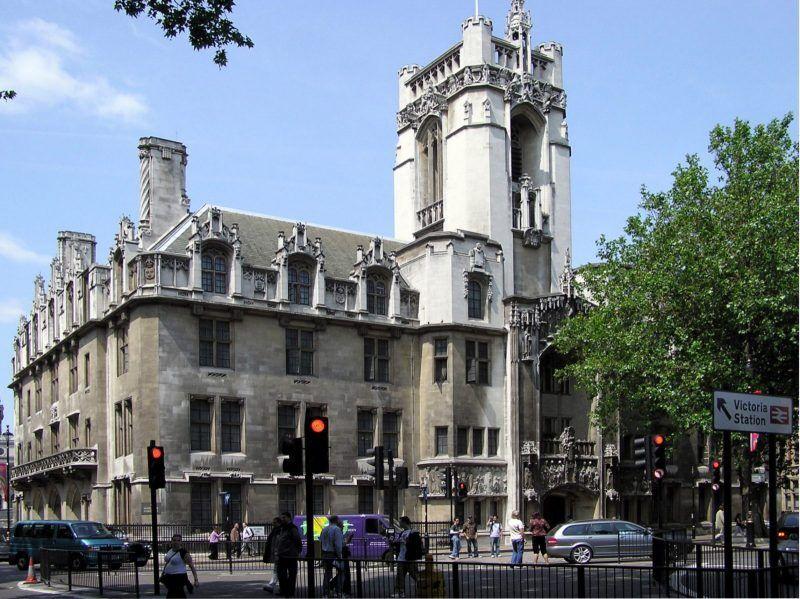 Здание верховного суда Великобритании