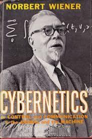 Норберт Виннер на обложке второго издания «Кибернетики»