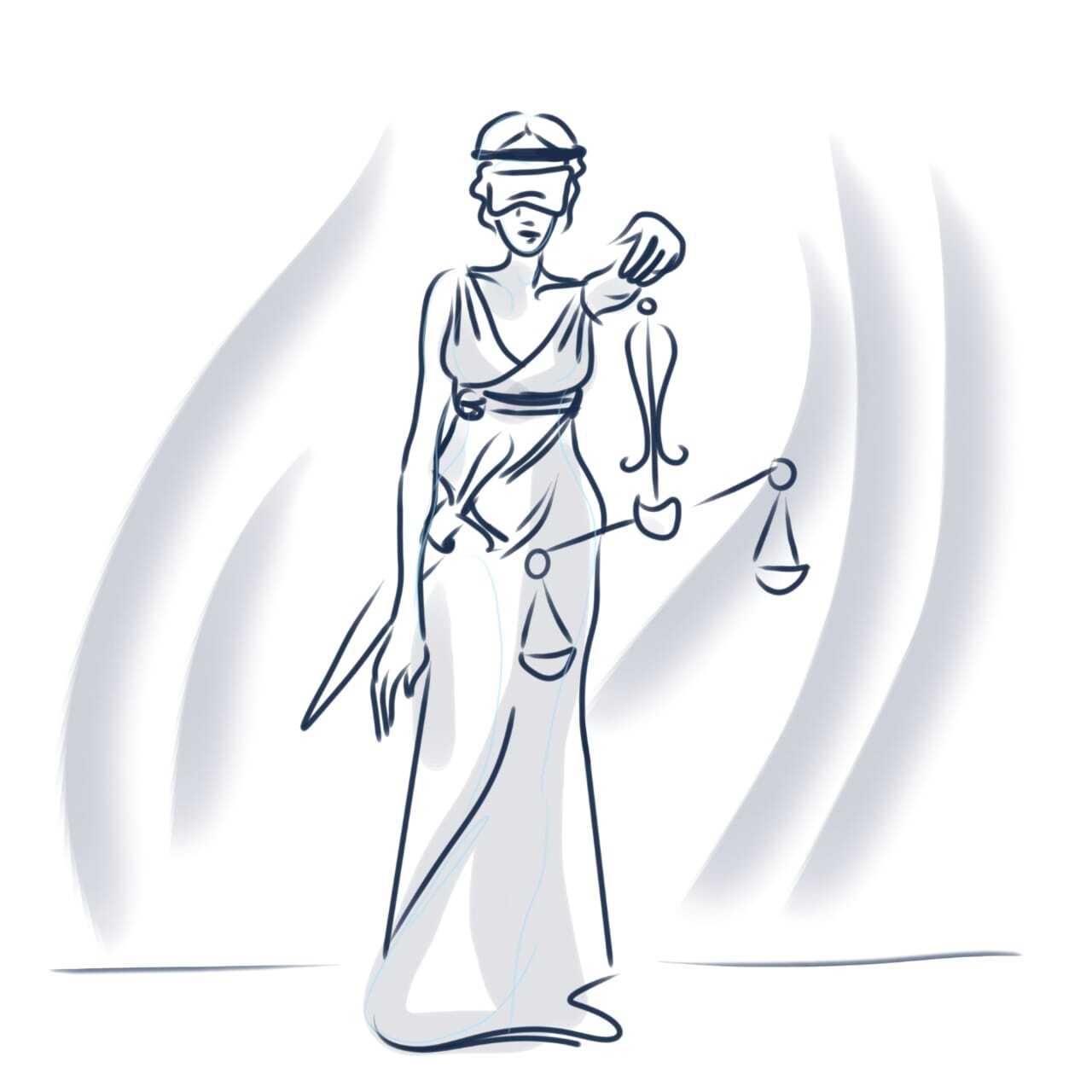 Иконка для рубрики «Судебные решения» специально для сайта «Факты о Саентологии»