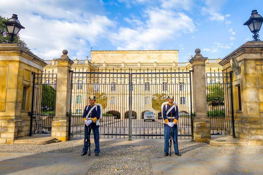 Президентский дворец в Колумбии
