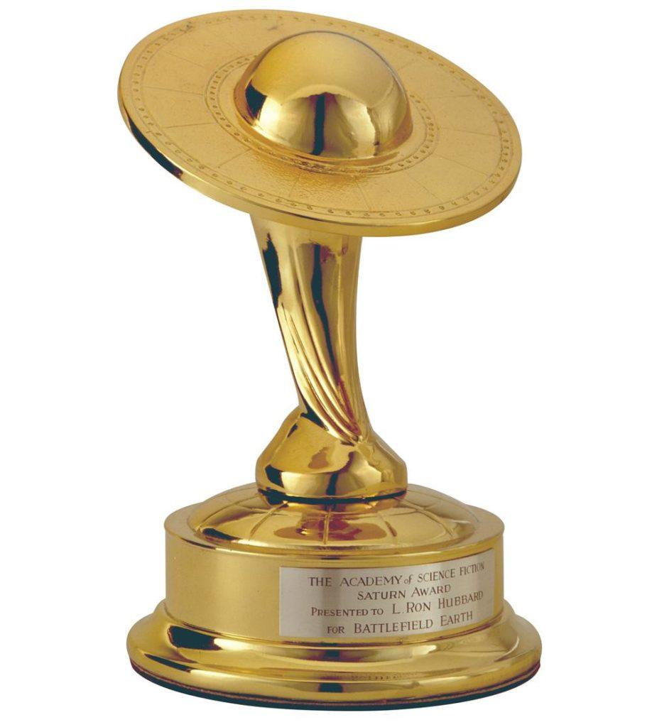 «Сатурн» – премия Академии научной фантастики.