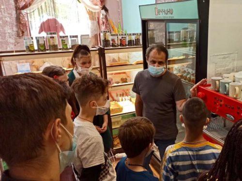 На экскурсии для профессиональной ориентации в Екатеринбурге